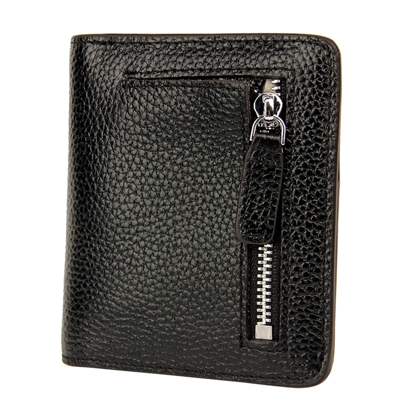 Ladies Cow Leather RFID Wallet Small Coin Female Purse Card Holder Women Wallets Short Money Pocket Carteira Bolsa Feminina ...