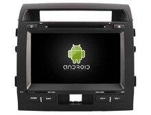 Android 6.0 quad core 1024*600 car dvd player media radio gps navi 4G lite TPMS obd DVR for Toyota Land Cruiser LC200 2008-2013