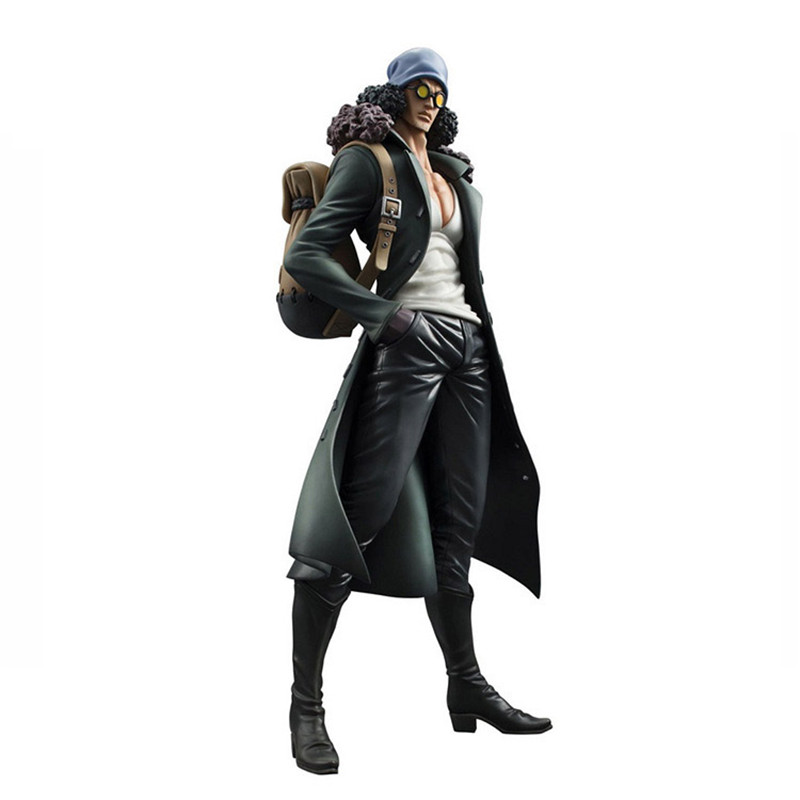 WVW 28CM Hot Sale Anime One Piece Two years later New World Kuzan Model PVC Toy Action Figure Decoration For Collection Gift anime one piece dracula mihawk model garage kit pvc action figure classic collection toy doll