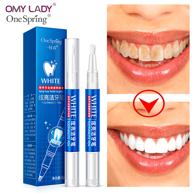 цена на OMY LADY One spring white toothpaste pen Dental Care Cleaning Hygiene Oral Care Oral mint essence Breath Remove teeth whitening