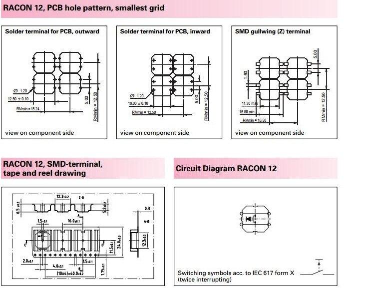 50 pièces/100 pièces RAFI SMD RACON 12 allemagne 12*12*5mm 12*12mm lumière tactile interrupteur SMT kone bouton de levage 1.14.001.503/0000 - 5