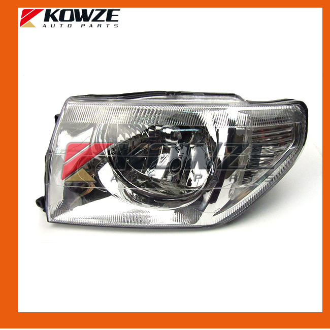 2PCS Head Lamp Light Headlamp For Mitsubishi Pajero Pinin Montero IO H66 H67 H76 H77 MR964897 MR964898 MR414927 MR414928
