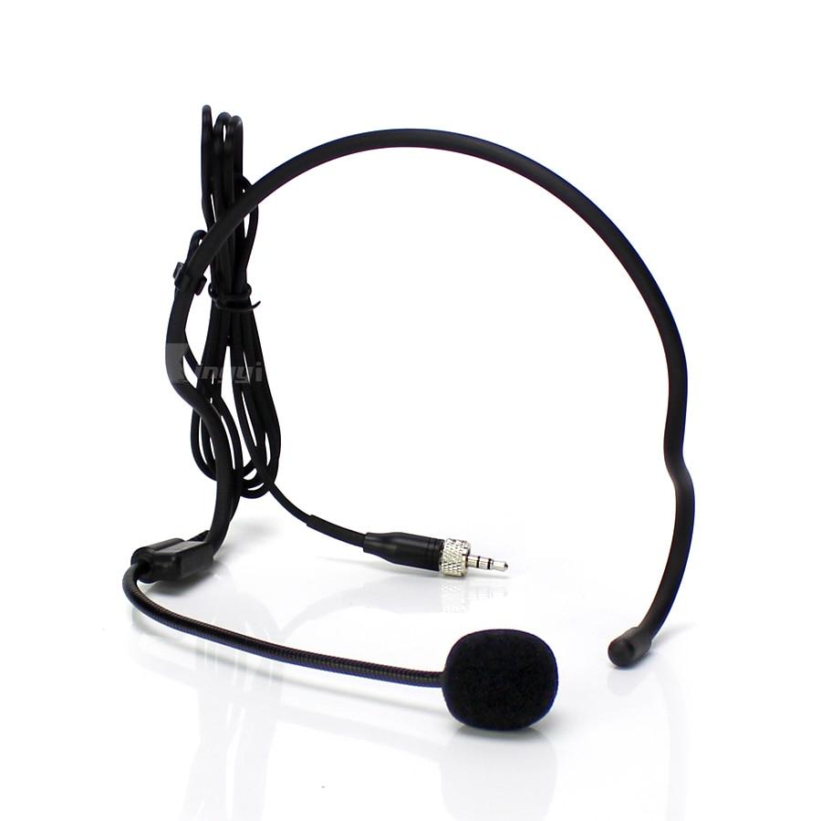 3.5mm Jack Stereo Screw Lock Earset Headworn Mic Headset Microphone For Wireless Bodypack Transmitter EW172 EW512 EW322 G3 G2 G1