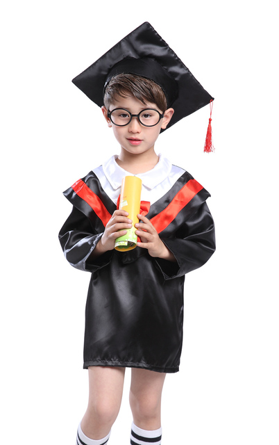 Bachelor\'s degree, doctor\'s gown, primary and secondary school ...