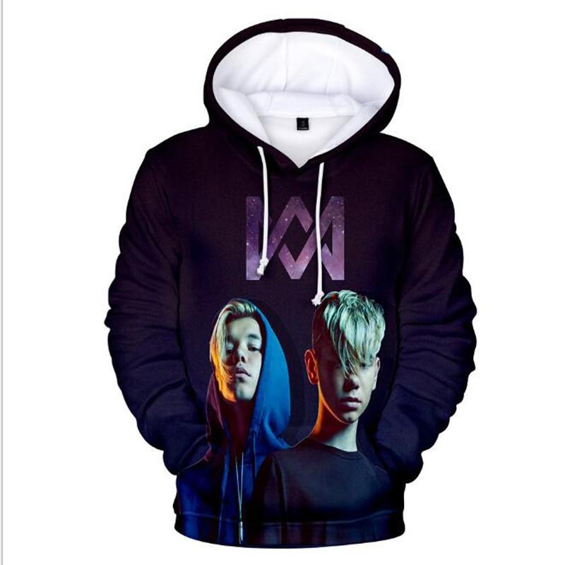 3D Hoodies Harajuku Sweatshirt Streetwear Martinus Hip-Hop Men/women Marcus Unisex
