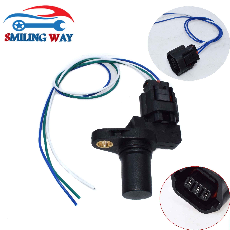 SMILIMNG WAY# Camshaft Position Sensor CPS + Wire Connector Plug For Chrysler Hyundai Kia Mitsubishi Volvo OE# 39310-38050