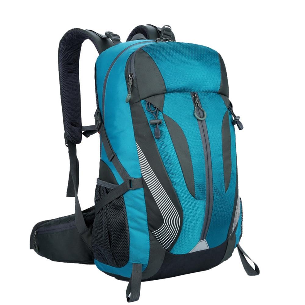 2018 Fashion Waterproof Nylon men Backpack Bag women mochila Escolar Travel Bag Rucksack trekking bag Large Capacity 40L men nylon shoulders backpack military hike trekking bag rucksack student bag mochila backpacks