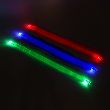 5A Acrylic Drum Sticks Noctilucent Glow in The Dark Stage Performance Luminous Jazz Drumsticks Red Green Blue 3 Colors Optional
