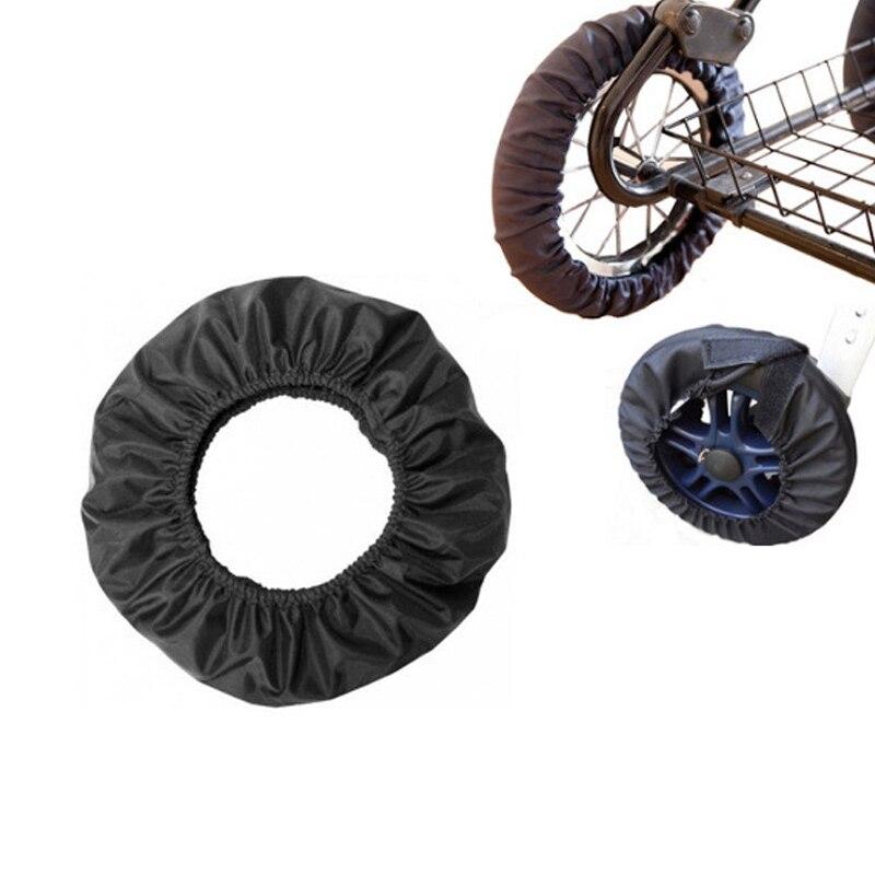 Stroller Accessories Wheel Cover Wheelchair Baby Carriage Pram Throne Pushchair Stroller BM88