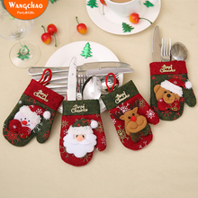 Christmas Decorations For Home Merry Cutlery New Years Mittens Decoration Gift The Year Deals