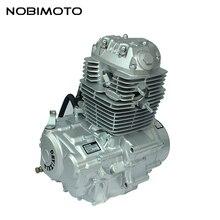 Кроссовый питбайк CB150 двигатель с воздушным охлаждением подходит для YinXiang CB 150cc двигатели с воздушным охлаждением двигатель грязи велосипед мотоцикл FDJ-018