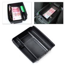beler Inner Control Armrest Storage Secondary Glove Box Organized Container for Kia Sportage 2011 2012 2013 2014 ABS Plastic
