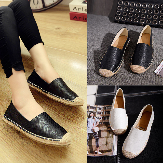 Women 's shoes 2017 spring and summer models of hemp rope fisherman shoes flat fashion women' s singles shoes