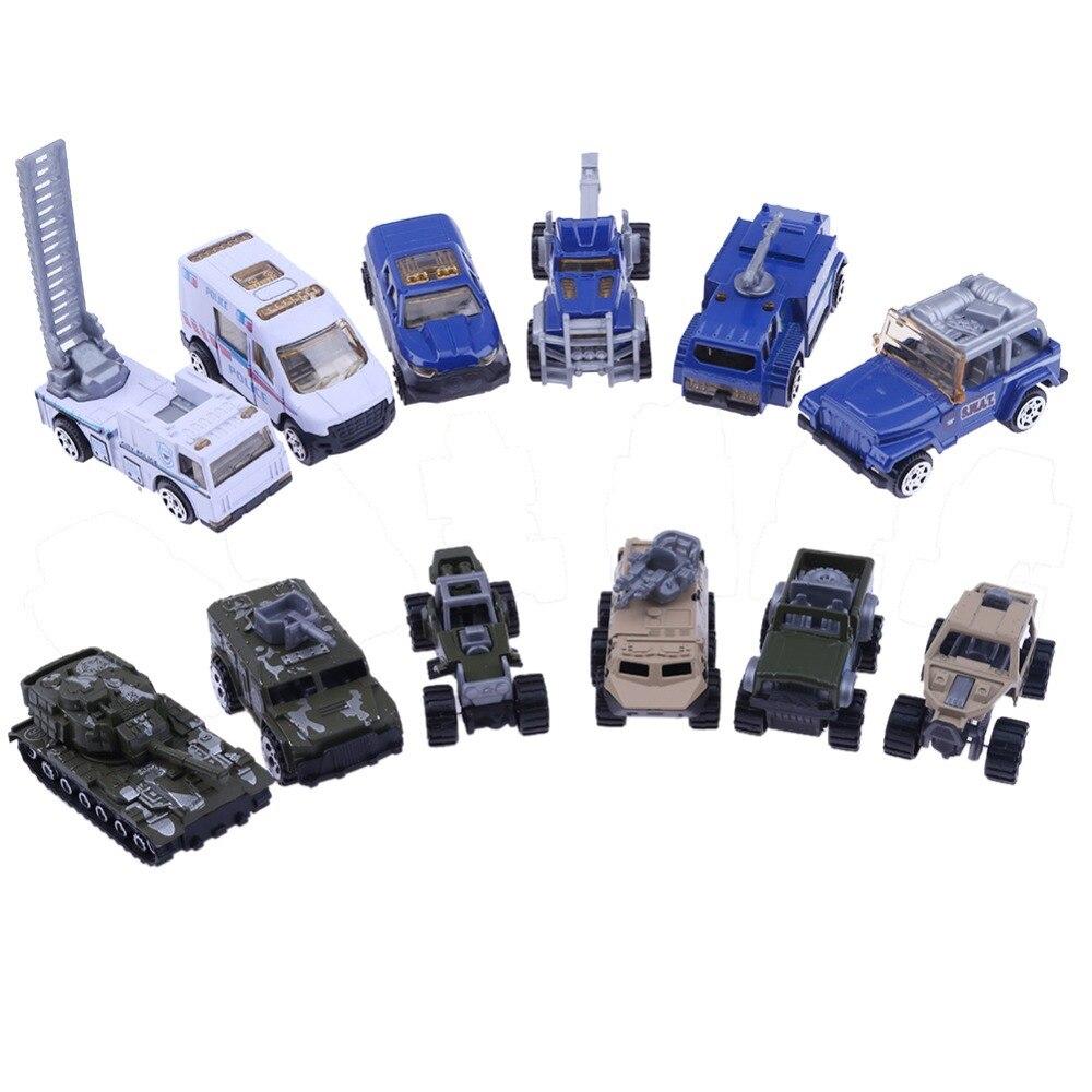 ✓6 tipos 1: 64 diecasts aleación modelo de coche traje 6 unids/set ...