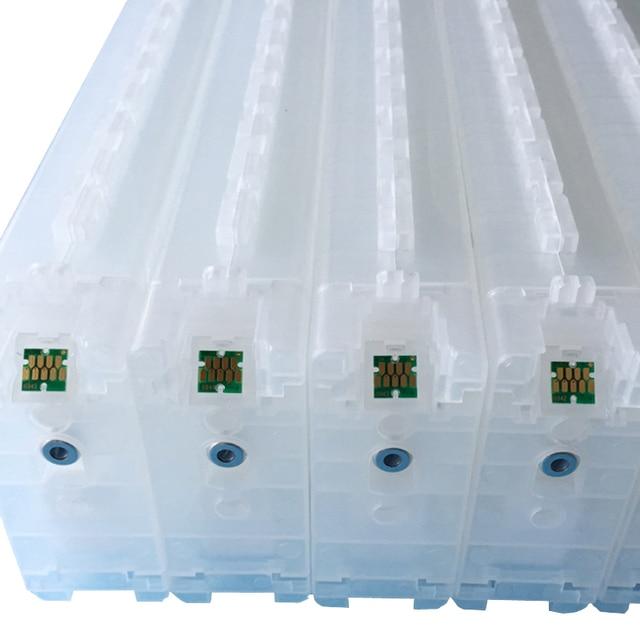 OYfame Novo Cartucho recarregável Para Epson T3000 T5000 T7000 T3200 T6941-T6945 T5200 T7200 T3070 T5070 T7070 com Chips 700 ML/PC