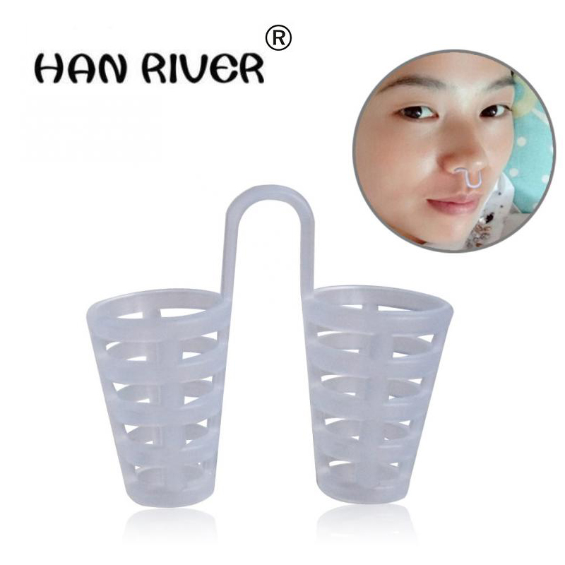 Homem e mulher mini anti-ronco aparelho anti-ronco no aparelho anti-ronco mini congestão respirador resistência ao ronco