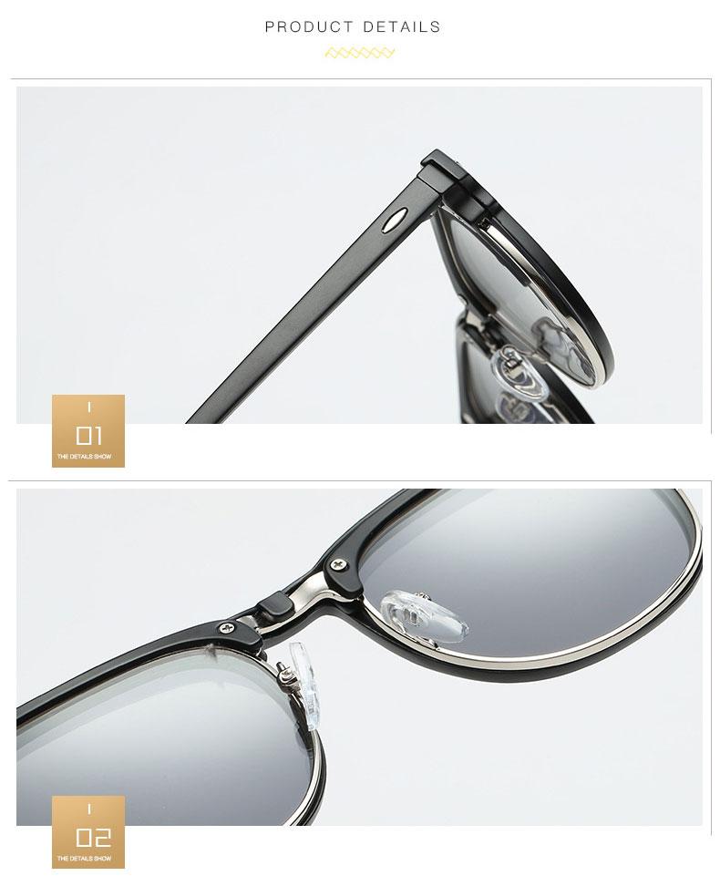 6a2909155b Marco de gafas de sol polarizadas de plástico Reven Jate 2218 con ...