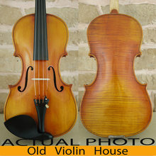 "Antique varnish,Antonio Stradivari 1716 ""Messiah"" Violin Model with Lable, Free violin case ,No.4516,hand made bow and rosin,"