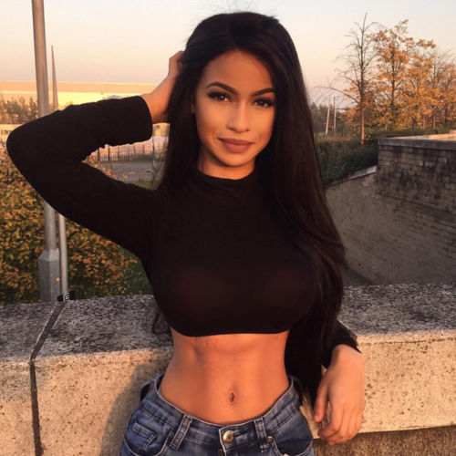 Women Turtleneck Slim Crop   Tops   Summer Autumn Solid Black White Blue   Tank     Tops   Ladies Sexy Camis