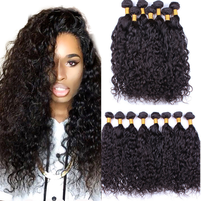 Aliexpress buy 4 bundles malaysian virgin hair water wave 7a 4 bundles malaysian virgin hair water wave 7a unprocessed wet and wavy human hair extension malaysian pmusecretfo Gallery