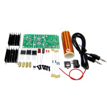 1kit DIY Mini Tesla Coil Kit 15W Mini Music Tesla Coil Plasma Speaker Tesla Wireless Transmission DC 15-24V(China)