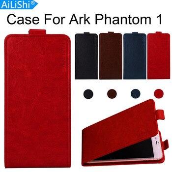 Funda AiLiShi para Ark Phantom 1 lujosa funda abatible de cuero PU Phantom 1 Ark funda exclusiva para teléfono 100% + seguimiento en Stock