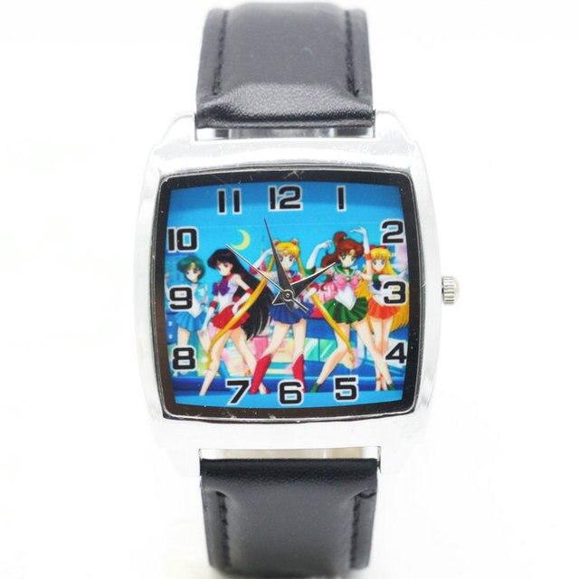 1pcs/lot Wholesale NEW Cartoon Children Sailor moon Watch Good Gift kids watch