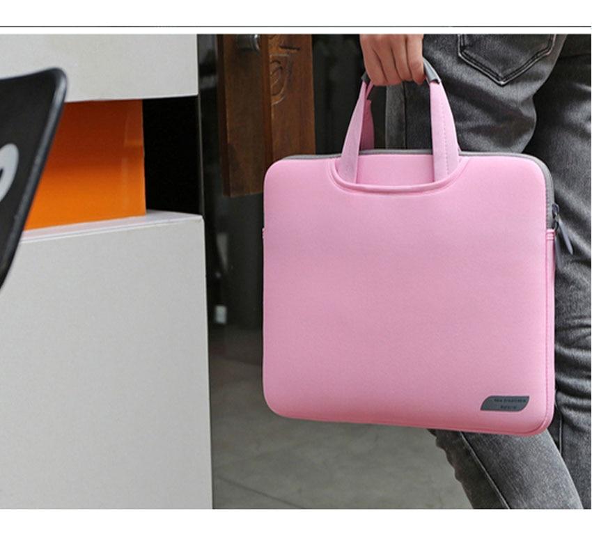 Сумка для ноутбука, чехол для Macbook Air 13 11 Pro 13,3 15, чехол для ноутбука 15,6 дюймов, нейлоновая сумка для ноутбука