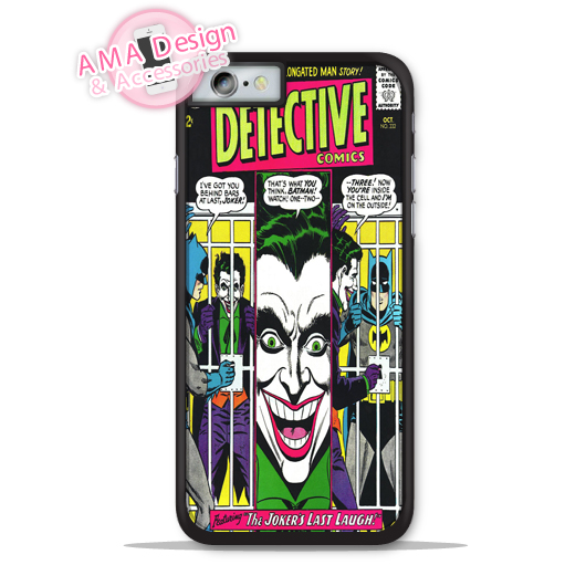 Joker Batman Comics Book Hero Phone Cover Case For Apple iPhone X 8 7 6 6s Plus 5 5s SE 5c 4 4s For iPod Touch