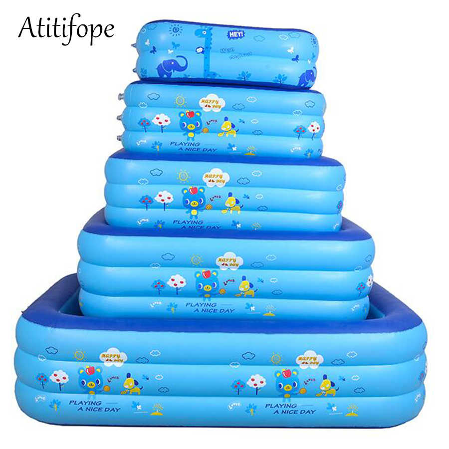 Baby Inflatable Pool Small Size Can Be Bath Tub Big Size Can Be Swimming Pool Good Kids Birthday Gift Ball Pit For Outdoor Use Aliexpress