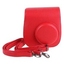 Лидер продаж! Кожа Ремни для камеры сумка мешок крышки протектор для Polaroid фото Камера для Fuji Instax Mini 8
