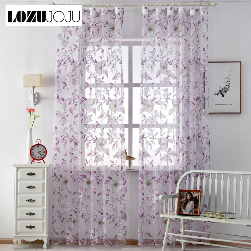 LOZUJOJU Free Shipping Treatment Fabrics Bedroom Kitchen