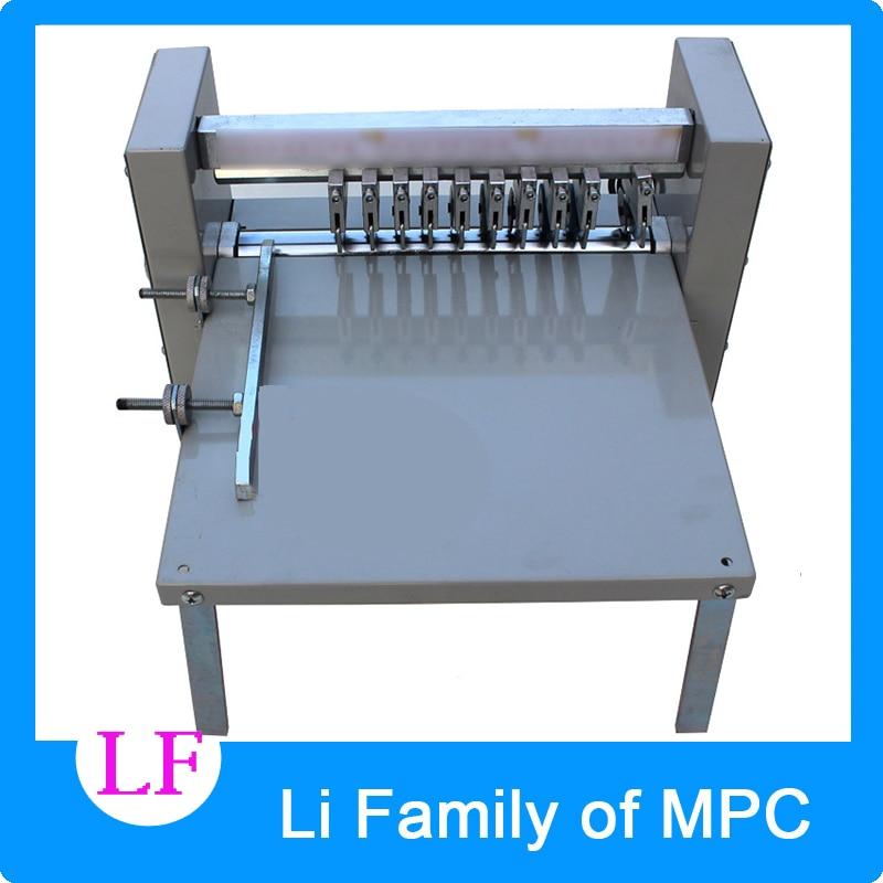 Adjustable speed ,pressure sensitive marker, slitting machine, electric indentation machine, line cutting machine line