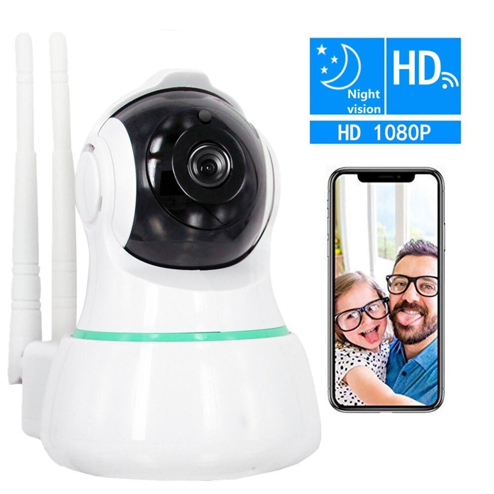 ZILNK 2.0MP 1080 p HD de Sécurité IP Caméra 360 Degrés Vue WiFi Sans Fil de Vision Nocturne Ir-cut Détection de Mouvement bébé Moniteur