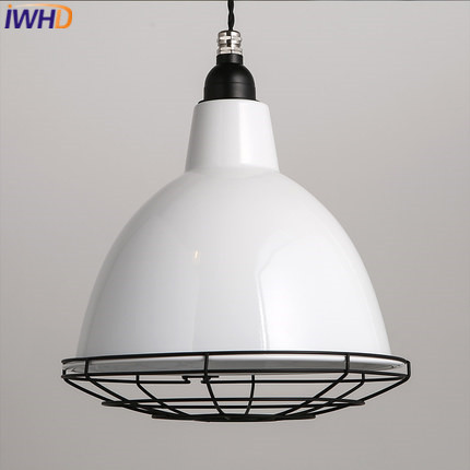 IWHD Modern LED Pendant Light Fixtures Creative White Pendant Lights Dining Room HangLamp For Rustaurant Lamp Luminaire iwhd led pendant light modern creative glass bedroom hanging lamp dining room suspension luminaire home lighting fixtures lustre