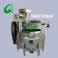 75 100kg/h Commercial oil extractor expeller Machine oil Press presser machine commercial home electric screw press