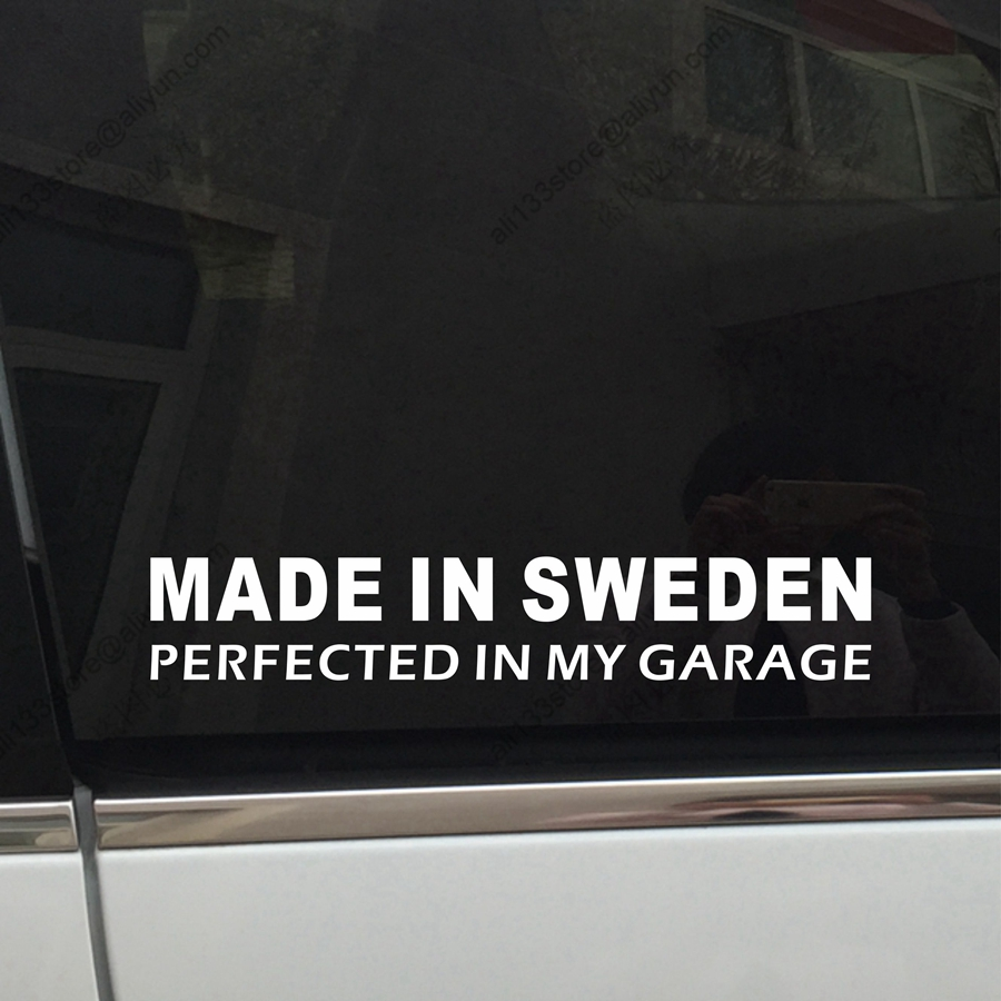 Made In Sweden Perfected In My Garage Swedish Funny Car