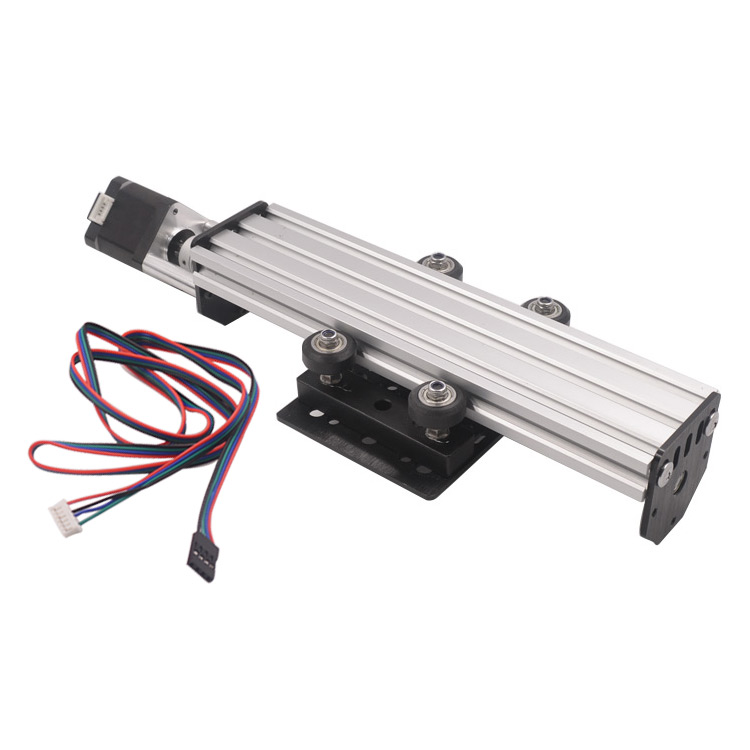 Assembled 3d Printer Sliding Table Rail Length 250/300/500mm 2060 V-slot Nema17 Pitch 2mm T8 Lead Screw Linear Actuator Various Styles Office Electronics