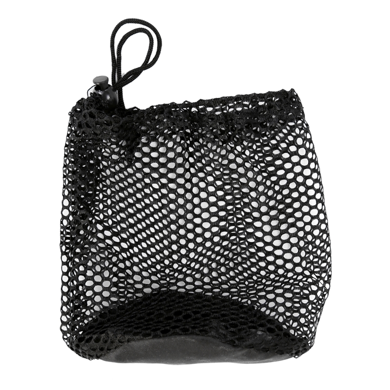 1Pc Nylon Mesh Nets Bag Golf Tennis Balls Storage Pouch Carrying Holder