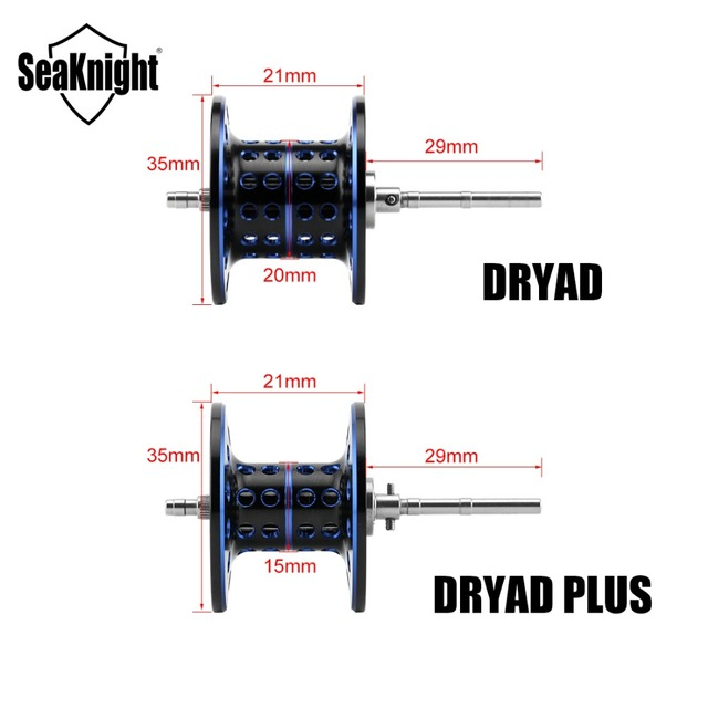 SeaKnight DRYAD /PLUS Anti-corrosion Baitcasting Reel 7.6:1 7.0:1 High Speed 12BB Fishing Reel Fishing Tackle Saltwater Fishing 1