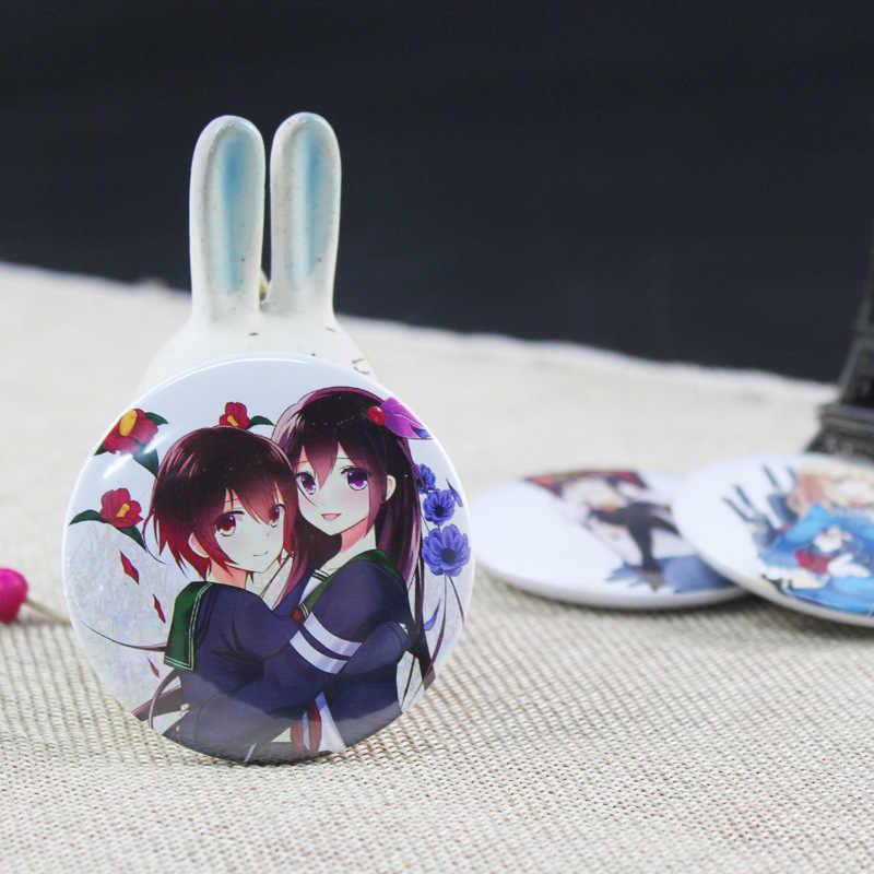Anime collezione Cosplay Distintivo Cartone Animato Giapponese Metallo Figura Kongo Devin Spille Spille Sacchetti Dei Monili Sacchetti di Vestiti Decorazione