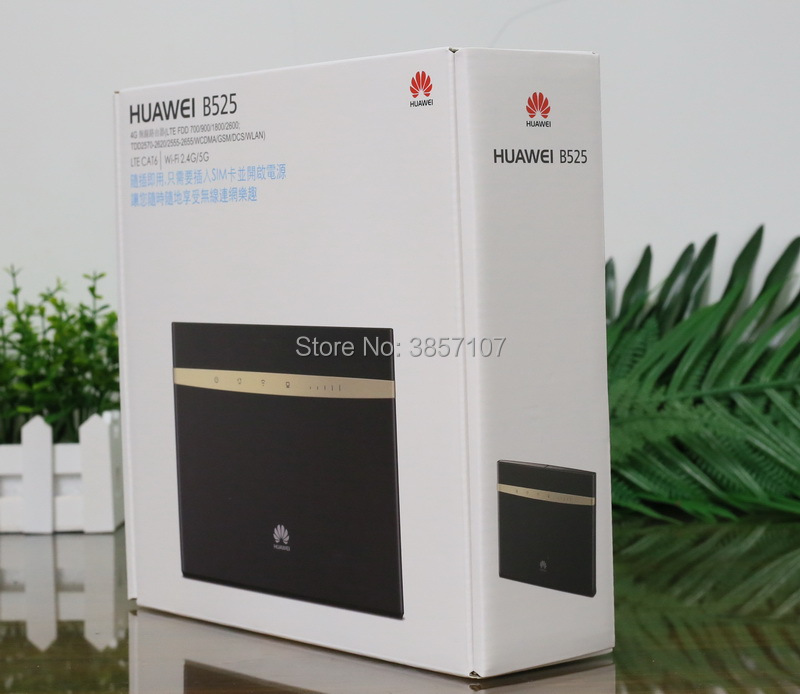 Huawei B525-65a LTE FDD 2600/2100/1900/1800/1700/1400/900/850 /800/700(B28)  MHz LTE TDD 2300/2500/2600 MHz CPE Router