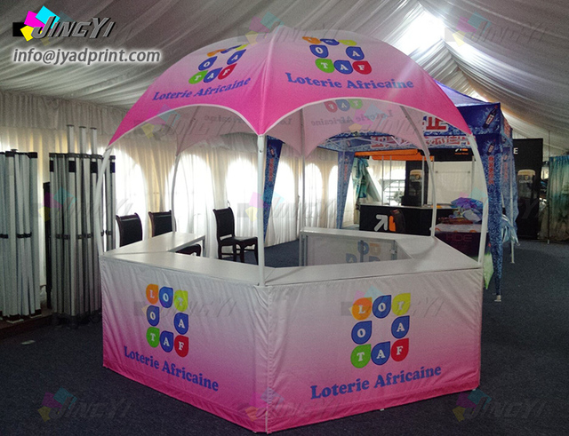 Diameter 3X3M Custom Full Color Print Dome Advertising Sales Promotion Calotte Outdoor Tents