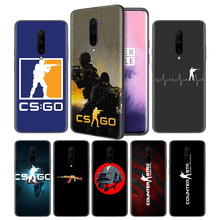 Counter Strike cs go Soft Black Silicone Case Cover for OnePlus 6 6T 7 Pro 5G Ultra-thin TPU Phone Back Protective