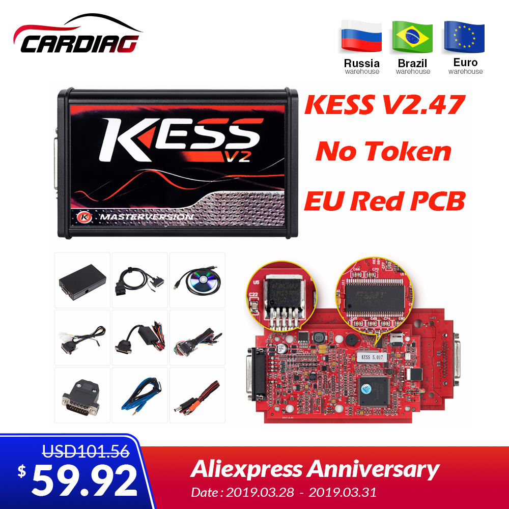 KESS V2 47 KESS V5 017 ktag V7 020 Tuning Kit without Token Limited