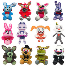 New-Toys Freddy FNAF Five-Nights Gifts Bear-Foxy Kids Cartoon Plush for At Movie 18cm