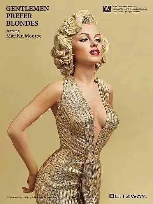 42 เซนติเมตร 1/4 Scale Blondes รูปปั้น Marilyn Monroe pvc เซ็กซี่รูปของเล่นจัดส่งฟรี