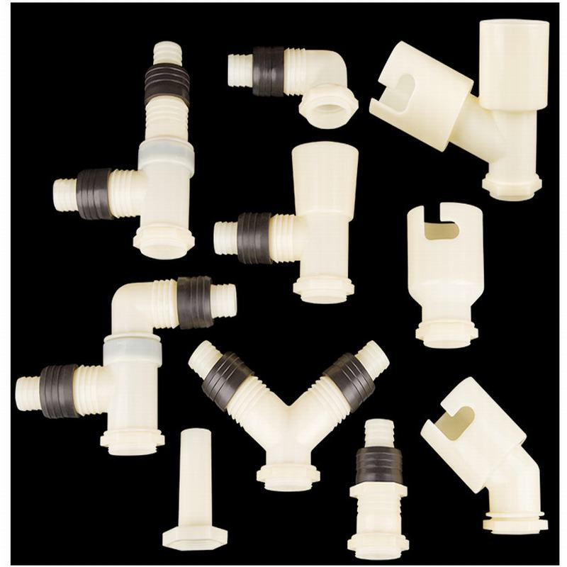 Plastic plumbing pipe fittings connector quick connect pvc