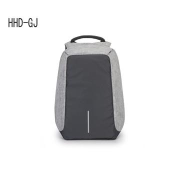 Man Backpack USB Recharging 15.6 inch laptop School Bag For Boy Male Travel Mochila Waterproof Anti-theft Backpack