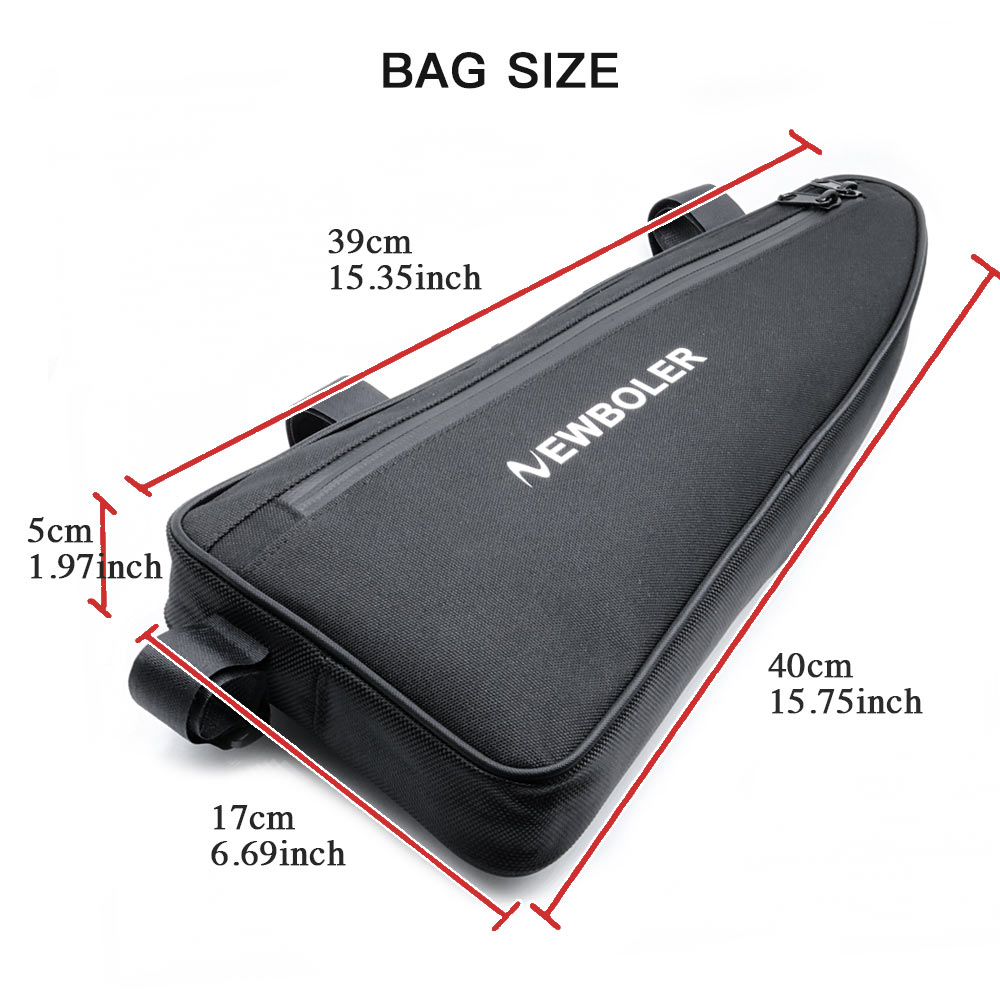 2018 Newboler Large Size Bicycle Triangle Bag Bike Frame Front Tube Roswheel Tas Sepeda Waterproof Cycling Pannier Tool Accessories In Bags Panniers From